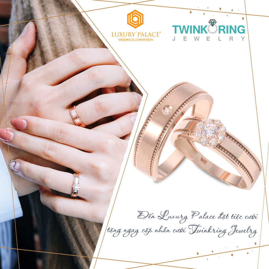 tặng nhẫn cưới tại luxury palace