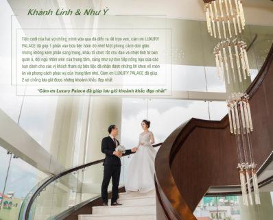 Cảm nhận từ khách hàng khi đặt tiệc tại Luxury Palace (P.3)